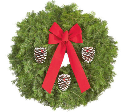 Holiday Wreath Sale